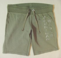 American Eagle Outfitters Shorts olive green cotton