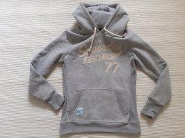 superdry hoodie grau neuwertig gr. s 36
