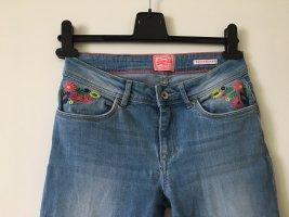 Superdry Jeans Skinny W27/L32 Blumenmuster
