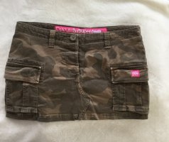 Superdry Minirock Camouflage Gr S