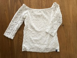 Superdry Spitzenshirt Shirt Bluse Größe S