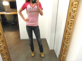 Superdry Sports T-Shirt Top rosa Pink S 36 (auch XS 34)