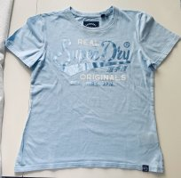 Superdry T-Shirt Gr. UK 14 hellblau