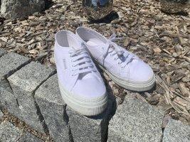 Superga COTU Plateau-Sneaker in weiß