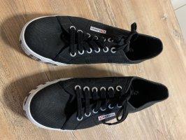Superga Heel Sneakers white-black