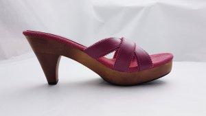 Superga Comfortabele sandalen veelkleurig Leer