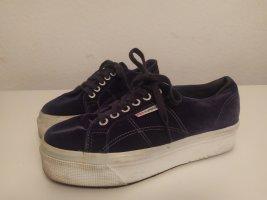 Superga Sneaker Samtblau