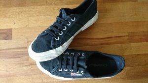 Superga Sneaker, schwarz/weiß