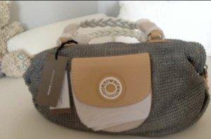 Superpreis Francesco Biasia Tasche original und NEU silbergrau, beige, weiss Topdesign