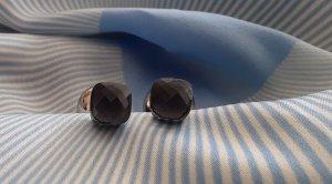 Kolczyk ze sztyftem jasnoniebieski-szary niebieski Metal