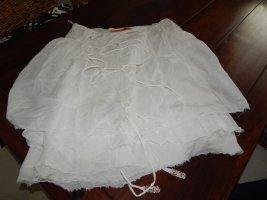 Object Falda cruzada blanco puro Algodón