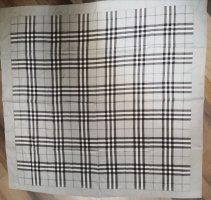 Pañuelo de seda negro-gris claro