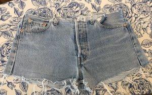 Levi's Jeansowe szorty szary niebieski-błękitny