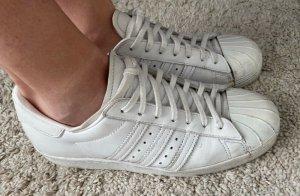 Superstars Metal toe weiß Adidas