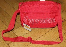 Supreme Shoulder Bag 100% Original FW-Drop 2018 Tasche rot red