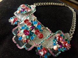 Swarovski Colliers ras du cou multicolore