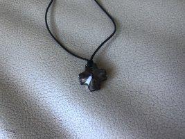 Swarovski Collier noir-gris anthracite
