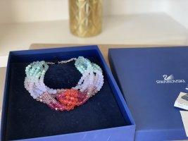 Swarovski Collar estilo collier multicolor
