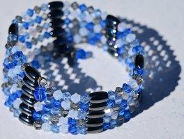 Swarovski Collier de perles multicolore