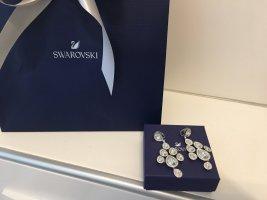 Swarovski Orecchino a clip argento