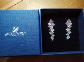 swarovski Ohrringe rosa Weiß