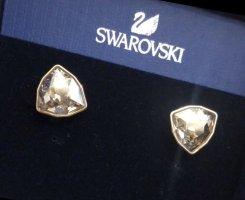 Swarovski Ear stud gold-colored