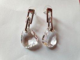 Swarovski Boucles d'oreilles en argent argenté-blanc argent