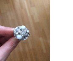 Swarovski Zilveren ring zilver-wit