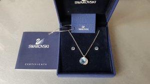 Swarovski Set Halskette & Ohrringe wie neu mit Box mit Etikett sowie Zertifikat