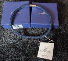 Swarovski Stardust Halskette, blau, Gr.S, Magnetverschluss, NEU inkl. Box und Etikett