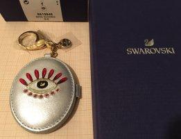 Swarovski Key Chain multicolored leather