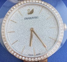 Swarovski Watch With Metal Strap gold-colored-silver-colored