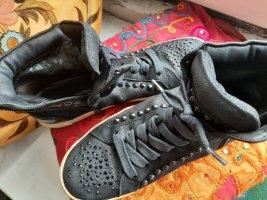Kennel und Schmenger Sneaker alta nero