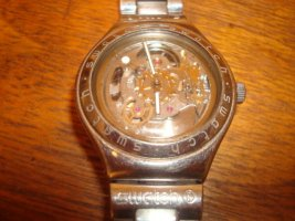 Swatch Irony Automatic stainless steel