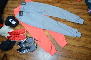Sweat Jogger 38 grau  Pretty Little Think