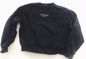 Cheap Monday Sweat Shirt black-white