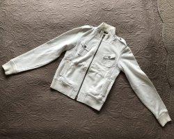 Benetton Gilet de sport blanc