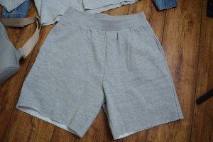 GinaTricot High waist short lichtgrijs-grijs