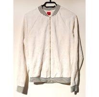 Livre Sweat Jacket white-blue