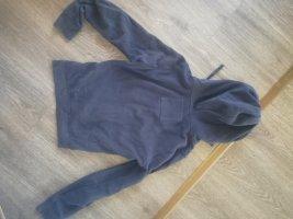 Hollister Chaqueta de tela de sudadera azul oscuro