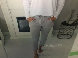 Pantalon de jogging gris clair-argenté