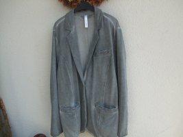 Sweatshirt Blazer anthrazit grau