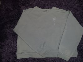 Sweatshirt Hoodie oversize pullover sage green pastel hellgrün Sweater