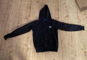 Sweatshirt-Jacke von Adidas schwarz