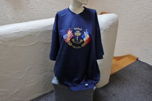 #Sweatshirt m- Sailing-Stickerei, Gr. XL (52), #dunkelblau, #Trigema, #hochwertig, #Markenmode