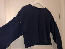 Sweatshirt mit armdetails