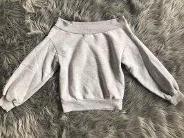H&M Koszula typu carmen jasnoszary