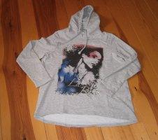 UpFashion Hooded Sweatshirt silver-colored