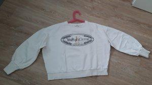 River Island Sweat Shirt natural white