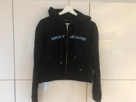 DKNY Jeans Veste chemise noir-bleu azur
